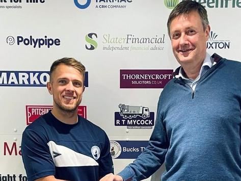 Former Derby striker Jamie Ward signs for Buxton