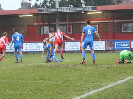 Alfreton blow the lead three times in Kettering thriller