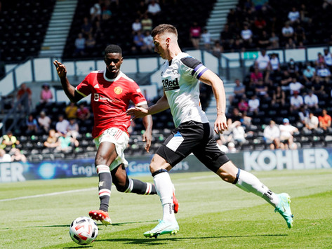 Rams are edged out by Manchester United in opening friendly