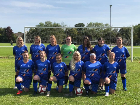 Doing it for the girls: Matlock's ladies team are flying high