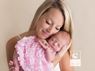 East Lansing, Michigan newborn photographer // [E] Newborn