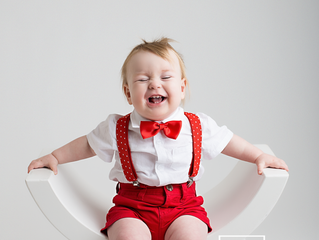 Michigan baby photographer // [R] One Year