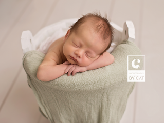 East Lansing Newborn Photographer // [J] Newborn