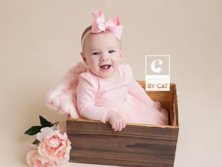 Michigan Baby Photographer // [M] Six month milestone