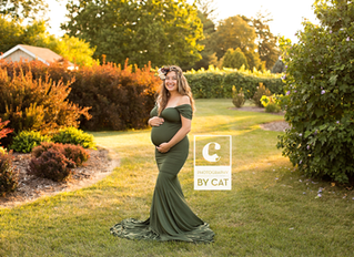 [A] maternity session