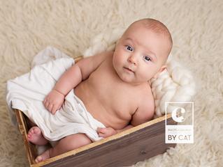 Newborn Photography East Lansing, MI // [C] 3 month milestone