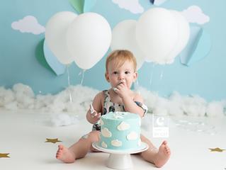 [A] first birthday milestone