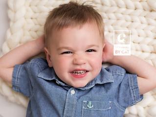 Lansing, MI Family Photographer // [K] Two Year Portraits