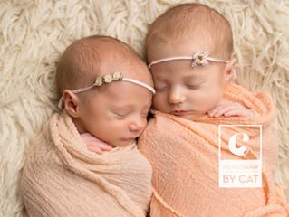 Lansing Newborn Photographer [B Twins]