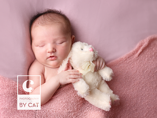 Sweet Baby [S] // Lansing Newborn and Family Photographer // Photography by Cat