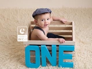 Lansing, MI Newborn Photographer // [G] One Year