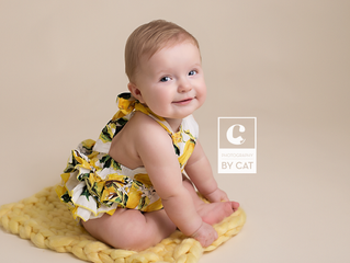 Okemos, MI baby photographer // [I] Sitter