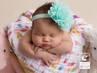 East Lansing, MI Newborn Photographer // [L] Newborn