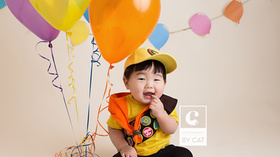Lansing, MI Baby Photographer // [E] First Birthday/Cake Smash