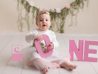 Okemos, MI Newborn Photographer // [J] One Year