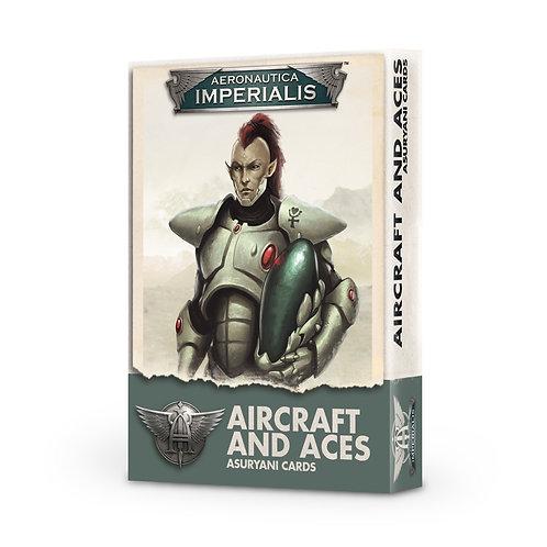 Aircraft and Aces - Asuryani Cards - Aeronautica Imperialis