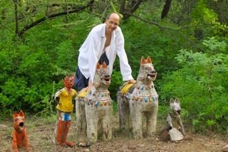 Arunachala with the animal deities left by village people
