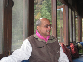 in Manali at the Lazy Dog