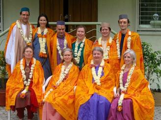 Ayurveda Graduating Class 2004- Kalidas Sanskrit University
