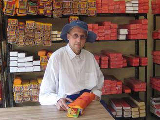 At the Padmasambhava Library in Rewalsar