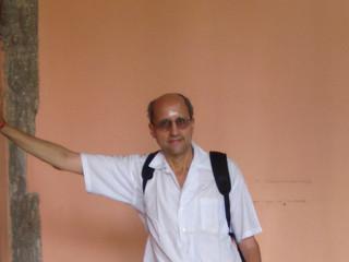 At the Arunachaleswara Temple in Tiruvannamalai