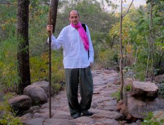 On the path up to Skandashram, Arunachala