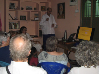 Talk on Ayurveda in Tiruvannamalai