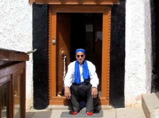 In Ladakh at Likir Tibetan Monastery