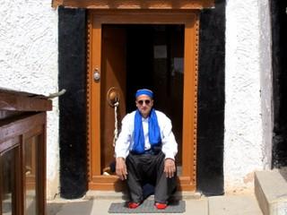 In Ladakh at Likir Tibetan Monastery