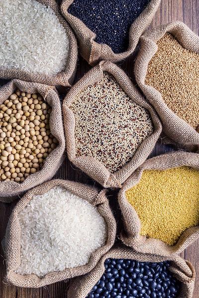Sorten von Getreide