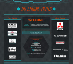 DG Engine Parts Website