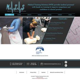 Medical Training Solutions Website