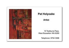 Freelance Artist Business Card