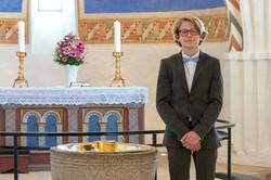 I Hedenste kirke d. 5. maj 2018