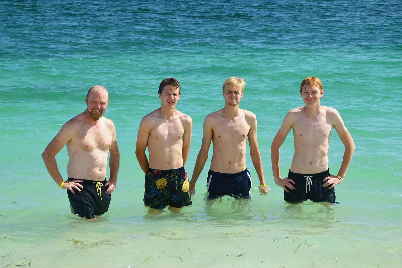 Badning i det Caribiske Hav