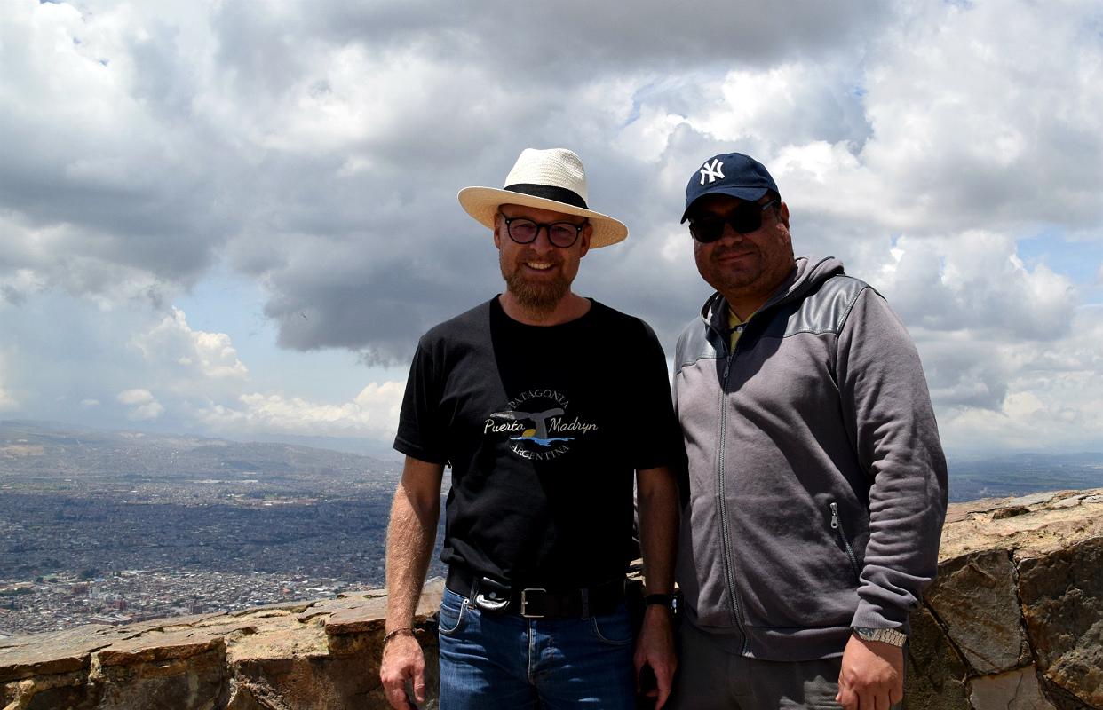 Harold og jeg på Monserrate