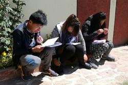 Koncentrerede unge på CLET