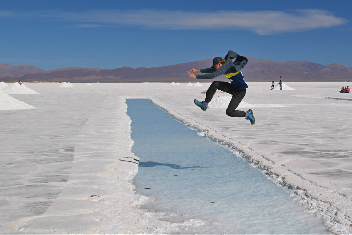 Salinas Grandes: Boys will be boys