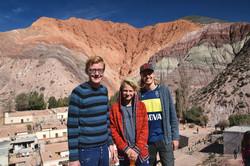 Purmamarca: Ved det syvfarvede bjerg