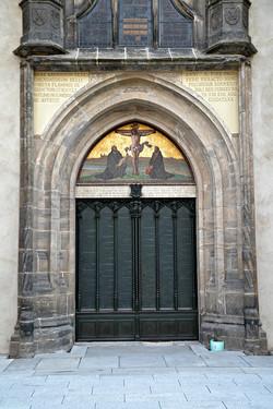 Kirkedør_i_Slotskirken_i_Wittenberg