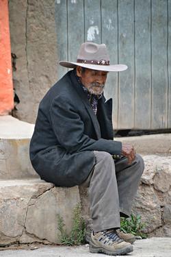 Gammel mand, Cabanaconde