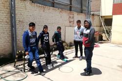 Elever på CLET i Juliaca