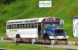 Bus ved Gamboa