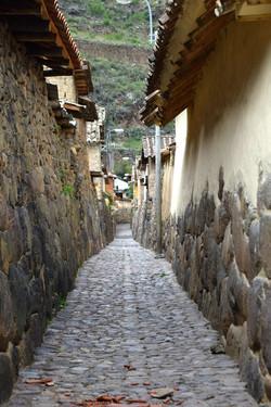 Gade i Ollantaytambo