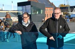Merete og Arvid i København