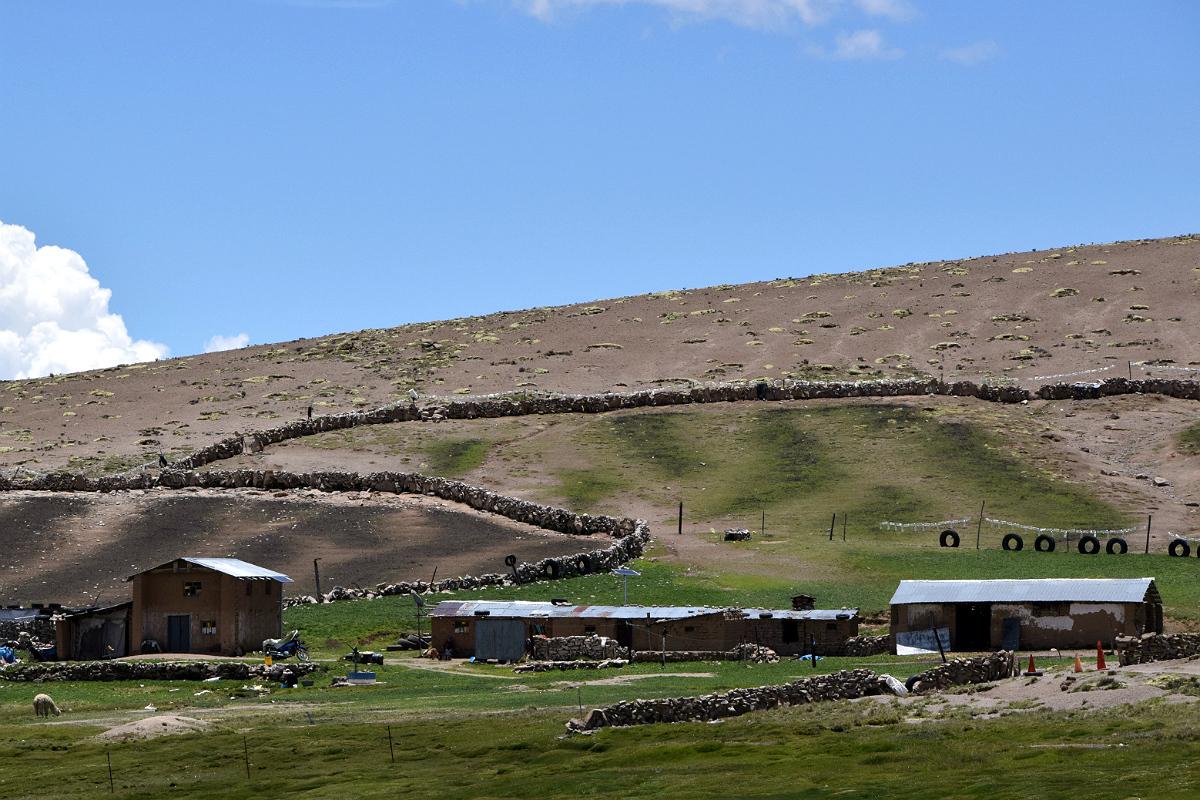 Bondegård i bjergene