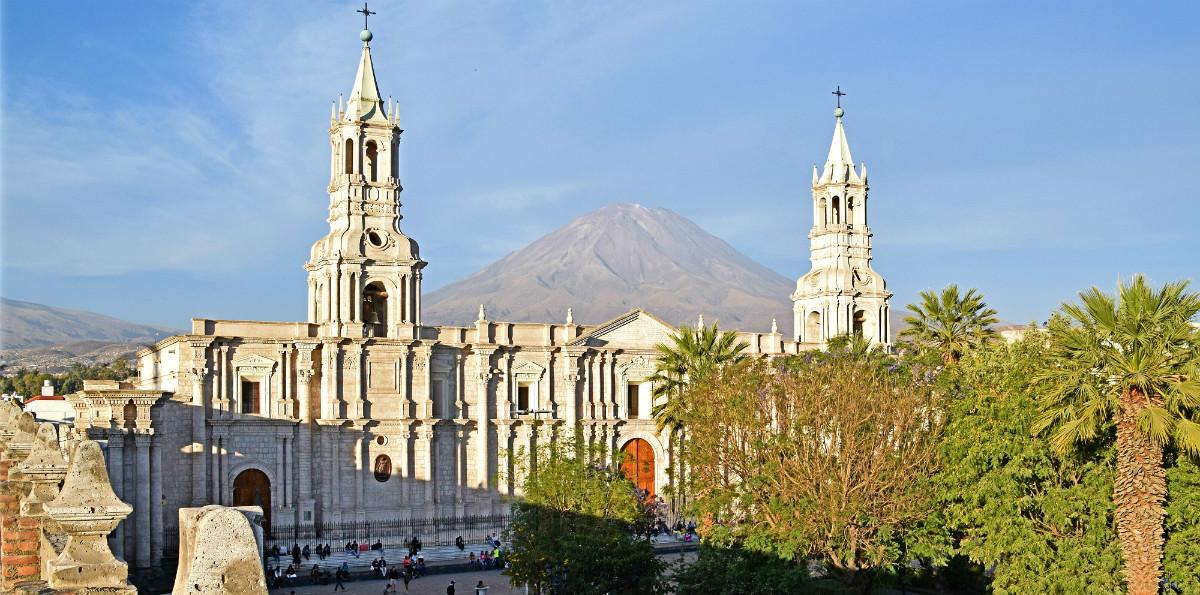 Catedral Misti Arequipa
