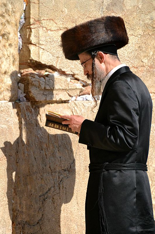 Skriftlæsning ved Grædemuren