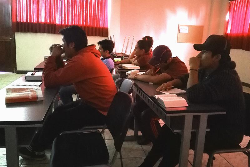 Bibelskolen på SETELA, Arequipa