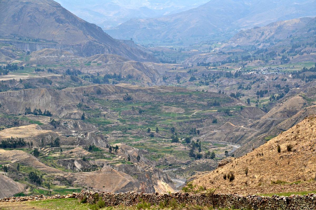 Udsigt Colca-dalen
